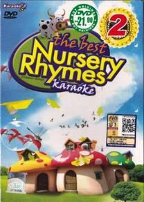 DVD Karaoke Best Nursery Rhymes Children Songs 2