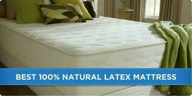 Queen 6 inch Latex mattress