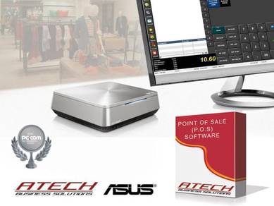 ( pos system ) Atech asus vm42 integrated set