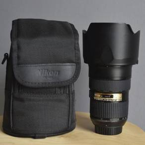 Nikon Lens 24-70G with box full set Excellent