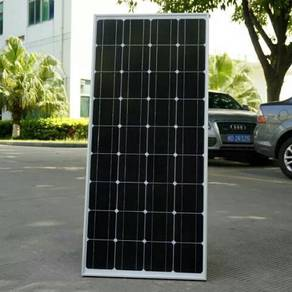 100W Monocrystalline Solar Panel for 12V Battery