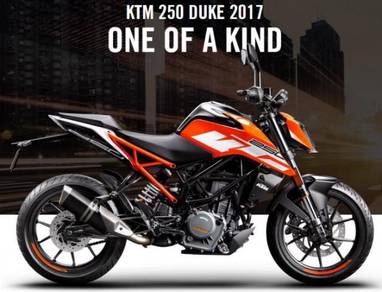 YEAR END SALES - 2017 KTM DUKE 250 new model