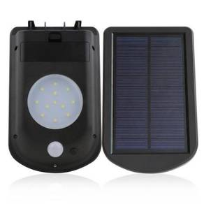New Solar Power 12 LED Wall Light