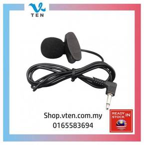 3.5mm Mini Wired Microphone For Loudspeaker