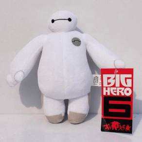 Original Big Hero 6 Baymax Plush Soft Toy NEW