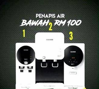 Penapis Air CUCKOO Water Filter Batu Ferringhi