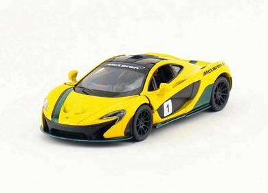 McLaren P1 w/ decal model car - yellow