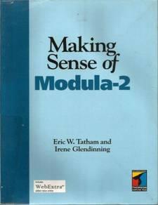 Pre-Owned - Book - Making Sense of Modula-2 (Softc