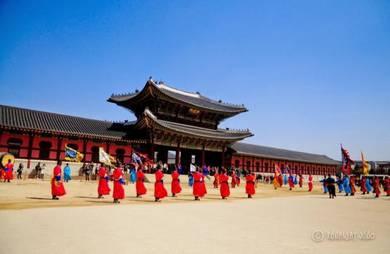 Korea school holidays 5d4n