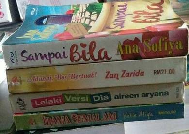 Preloved novel.