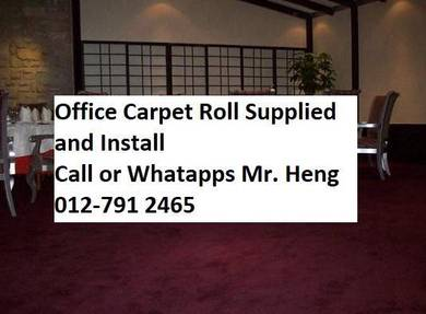 Modern Office Carpet roll with Install g48755