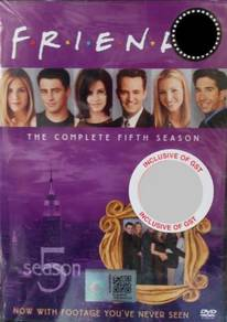 DVD Friends The Complete Fifth Season