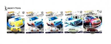 Hot Wheels 2018 Cargo Carriers Set Of 5pcs