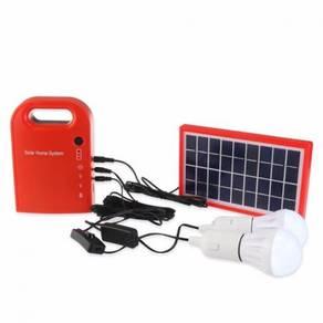 New Portable 3W Mini Solar Home System