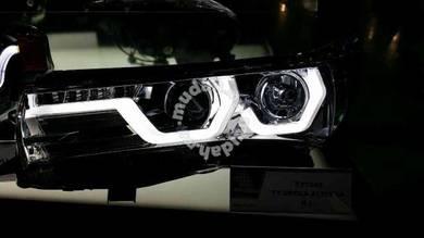 Toyota altis 15 head lamp light strip black max