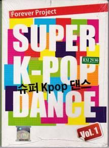 CD Super K-Pop Dance Vol.1