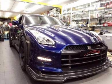 Nissan GTR R35 GTR35 Top Secret V2 Bumper Carbon