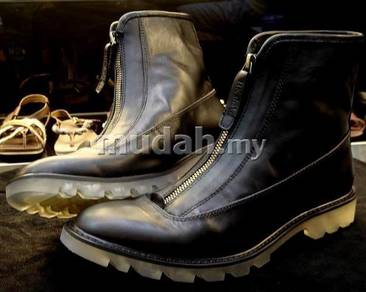 Leather men boots shoes Roman HK shaka