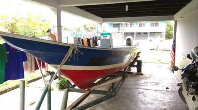 Boat Fiber 23 kaki