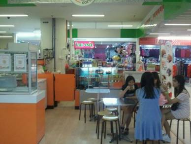 Food kiosk inside kenanga mall