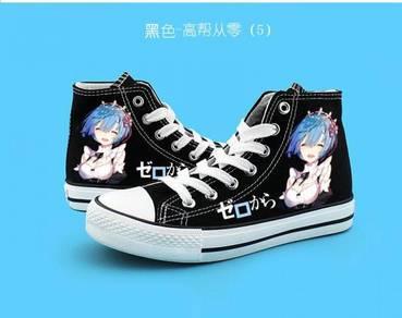 Anime RE:ZERO REM RAM shoes