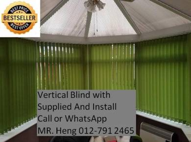 Easy Use Vertical Blind - with installation h78f76