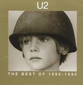 U2 the best of 1980-1990 cd