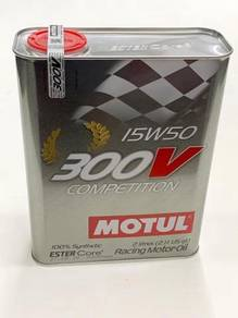 MOTUL 300V Competition 15W50 - 2 Litre Engine Oil