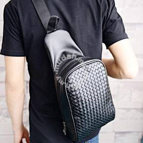 Extravagant Woven Chest Phone Luggage Bag Backpack