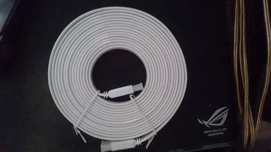 HDMI Flat Cable White 1080P 5M