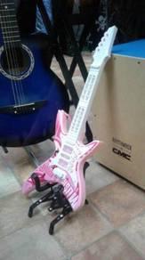 Electric Guitar Pink (Mini)