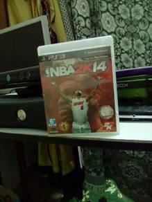NBA 2K14 ps3 dvd game