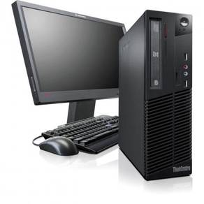 FULL SET CORE i5-2400 PC LENOVO M91P + MONITOR