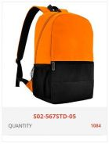 Backpack Bag Supplier Beg Galas