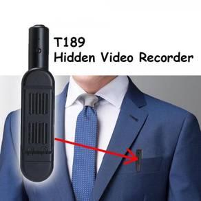 T189 Mini Hidden Spy Camera Pen HD 1080P Recorder