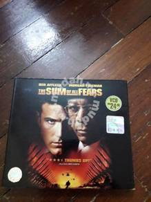 The Sum of All Fears original VCD