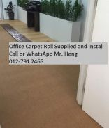 Classic Plain Design Carpet Roll with Install 59it