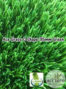 Artificial Grass / Rumput Tiruan C35mm GREEN