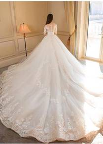 Cream or white wedding bridal dress gown RB0636