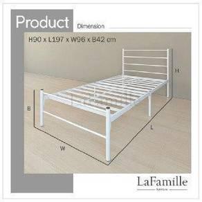 Jhr - Super Single Bed Frame (150kg)
