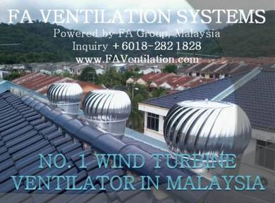 US Wind Turbine Ventilator KUANTAN KARAK JERANTUT