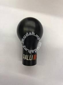Ralliart gear knob black mitsubishi proton