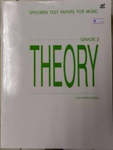 RMP - Specimen Papers , Theory of Music Grade2