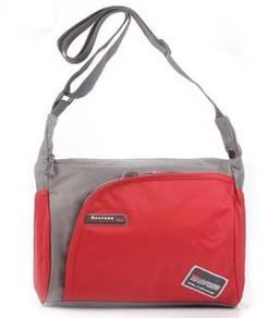 Leon Waterproof Sports Men Travel Sling Bag (Red)