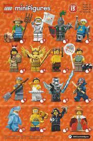 Lego Minifigures Series 15 71011 1 set 16 packs