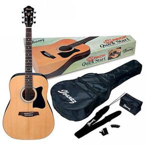 Set Gitar Akustik Ibanez (Quick Start V50)