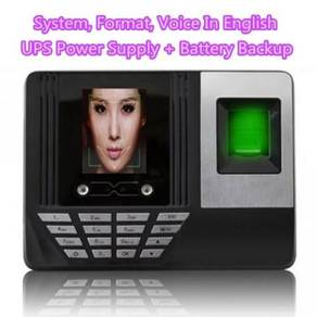 F180 Face & Fingerprint Time Attendance Machine