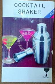 Cocktail Shaker 350cc Stainless Steel