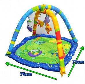 Baby soft playgym day bed - happy space jl613