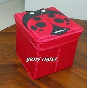 Tupperware Brands - Ladybird Storage Stool (1pc)